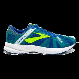 Zapatillas running Brooks Launch 6 azul/fluor hombre