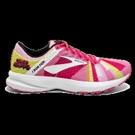 Zapatillas running Brooks Launch 6 rosa/blanco mujer