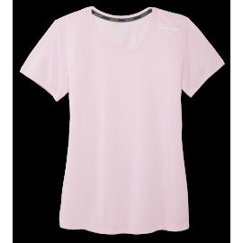 Camiseta Brooks Distance Sleeve rosa mujer