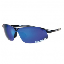 Gafas Eassun X-Light mate negro lente azul