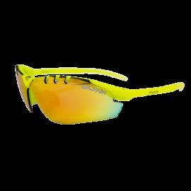 Gafas Eassun X-Light Sport amarillo mate lente rojo revo