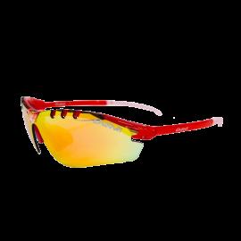Gafas Eassun X-Light Sport rojo  lente rojo revo