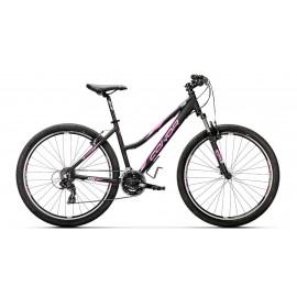 Bicicleta Conor 5400 27,5 negro-rosa mujer LM