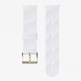 Correa Suunto 20mm Urban 1 Silicone Strap blanco oro