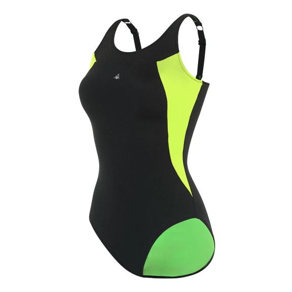 addf6ec9 Bañador Aquasphere Paola negro/verde mujer - Deportes Moya