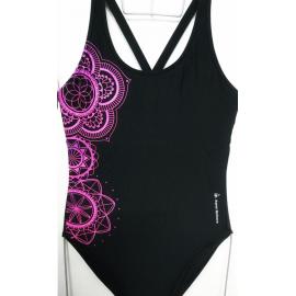Bañador AquaSphere Mandala negro/morado mujer