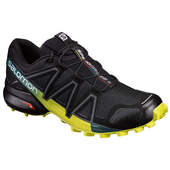 Zapatillas trail running Salomon Speedcross 4 negro hombre