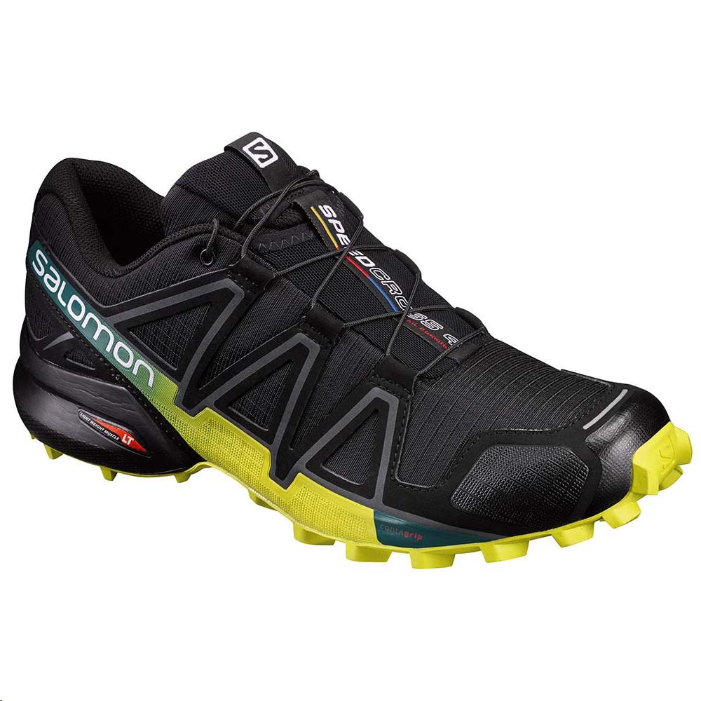 Zapatillas trail running Salomon Speedcross 4 negro hombre