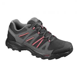 Zapatillas trekking Salomon Redwood 3 W negra/rosa mujer