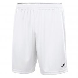 Pantalón corto Joma Nobel blanco adulto