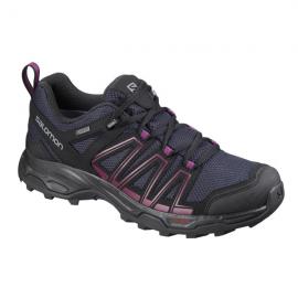 Zapatillas trekking Salomon Eastwood GTX W negra/azul mujer