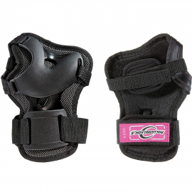 Muñequeras Rollerblade Bladegear negro/púrpura mujer