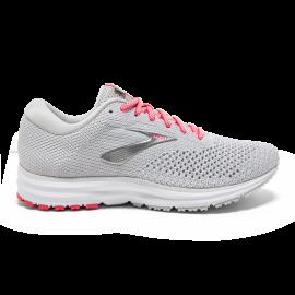 Zapatillas de running Brooks Revel 2 gris/blanca mujer