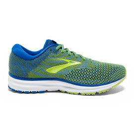 bd9bf066a16 Zapatillas de running Brooks Revel 2 azul/amarilla hombre