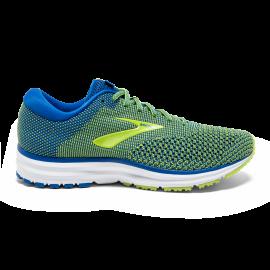 buy online a68bc 6cc7b Zapatillas de running Brooks Revel 2 azul/amarilla hombre