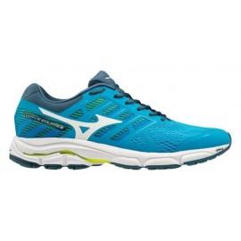 Zapatillas running Mizuno Wave Equate azul/blanco hombre