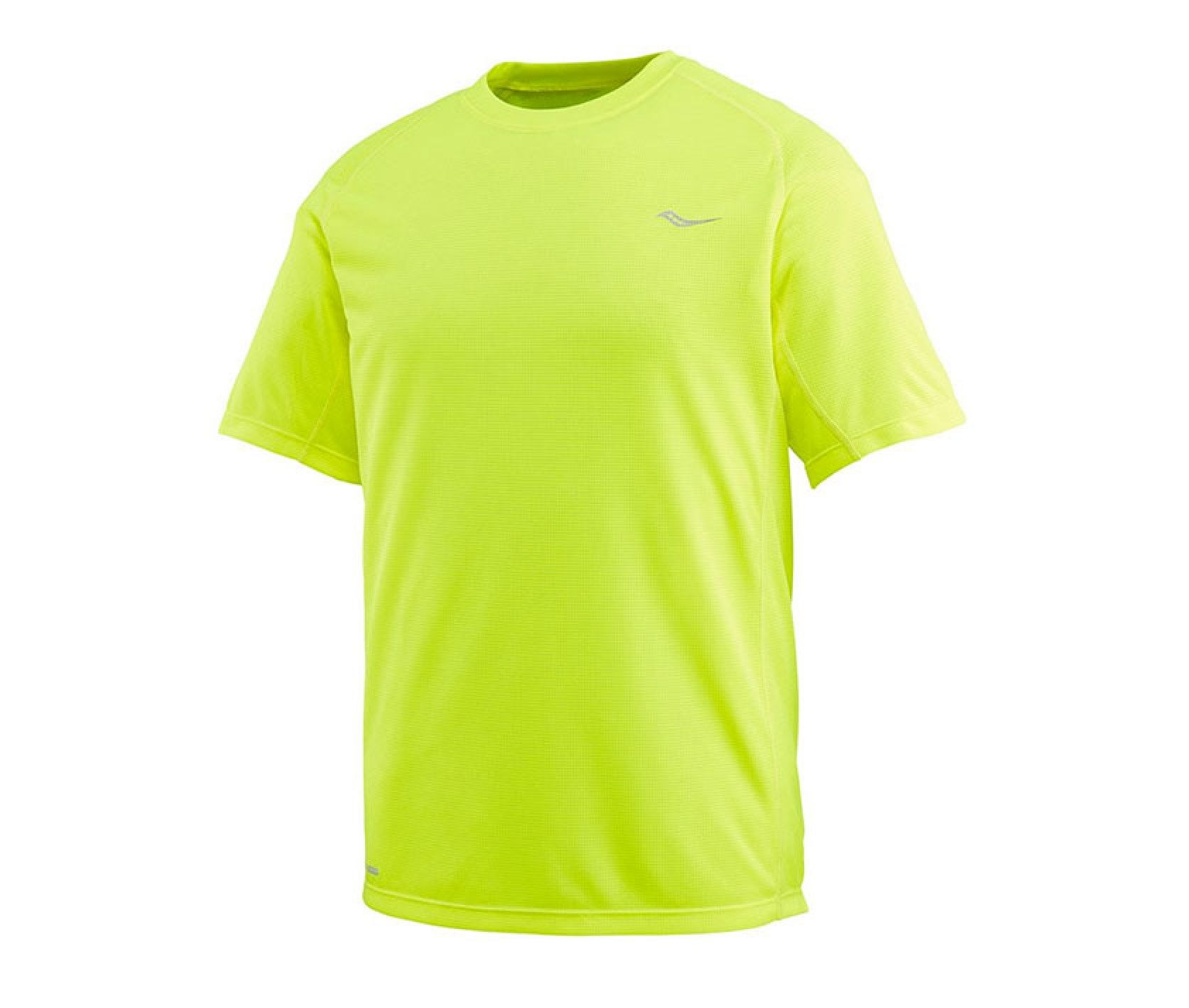 Camiseta running Saucony Hydralite amarilla hombre Deportes Moya