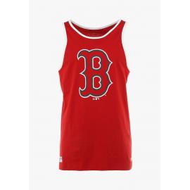 Camiseta New Era MLB Logo Tank Red Sox roja hombre