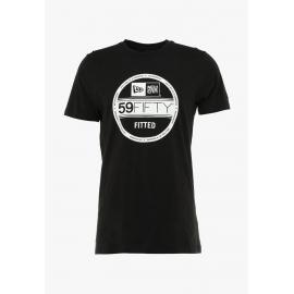 Camiseta New Era NE ESTL Visor Sticker negra hombre
