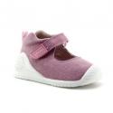 Zapatilla Biomecanics Lona rosa bebé