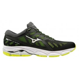 Zapatillas running Mizuno Wave Ultima 11 negro/amarillo homb