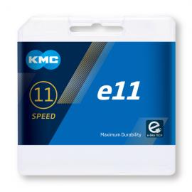 Cadena Kmc E1 plata 110 essabones 1 velocidad cambio interno