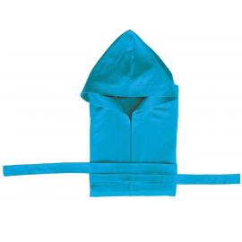 Albornoz microfibra Secaneta niño turquesa