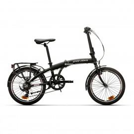 Bicicleta Conor Denver plegable negro