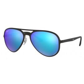 Gafas Ray-Ban Rb4320ch 601SA1 58 negro mate lentes azul