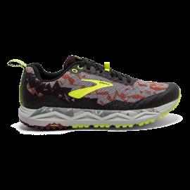 Zapatillas trail Brooks Caldera 3 rojo/negro/fluor hombre