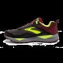 Zapatillas trail Brooks Cascadia 14 negro/rojo/fluor hombre