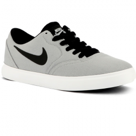 Zapatillas Nike Sb Check Cnvs (GS) gris junior