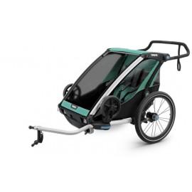 Carrito Thule Chariot Lite2 + kit bici azul V19 10203007
