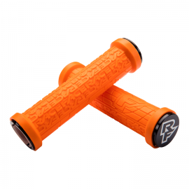 Puños  Race Face Grippler, 33mm Lock on, 132mm naranja