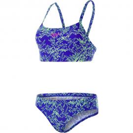 Bikini Speedo Boom Allover azul/verde mujer