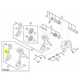 Portapoleas interno cambio Rd 6800/6870 GS 5YC25000