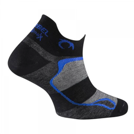 Calcetines running Lurbel Tiny negro/azul royal