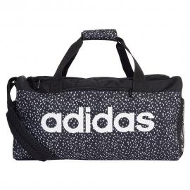 Bolsa deporte adidas Linear W SG negra/blanca