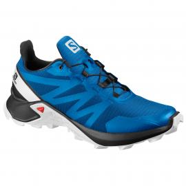 Zapatillas trail running Salomon SuperCross azul hombre