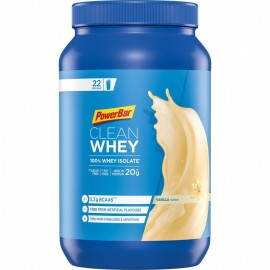 Bote PowerBar CleanWhey 100% vainilla Isolate 570Gr