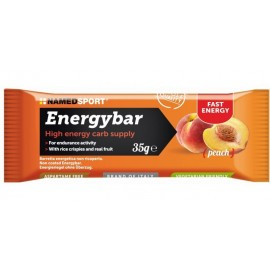 Barrita NamedSport Energybar Peach 32gr