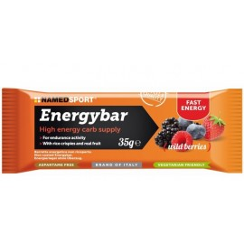Barrita NamedSport Energybar Wild Berries 35gr