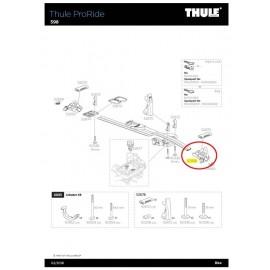 Soporte de Rueda Thule Proride 598 52958