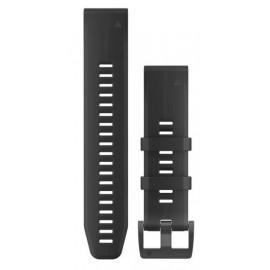 Pulsera Garmin Fenix 5 Qf22 silicona negra