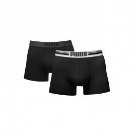 Boxer Puma Placed Logo 2pk negro hombre