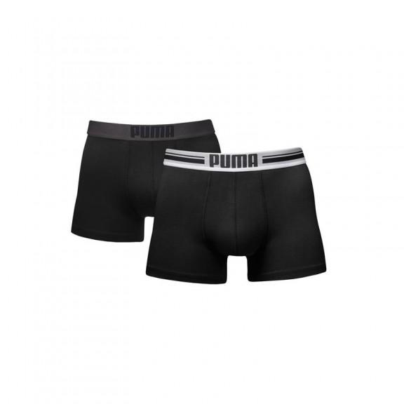 ac019249e2b7 Boxer Puma Placed Logo 2pk negro hombre - Deportes Moya