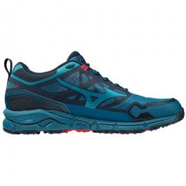 Trail Zapatillas Mizuno Running Hombre Wave Daichi Azul 4 bv76yYfg