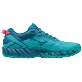Zapatillas trail running Mizuno Wave Ibuki 2 azul mujer