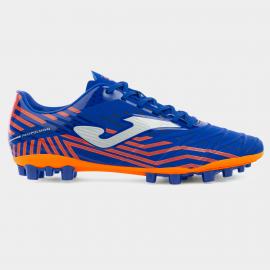 Zapatillas fútbol Joma Propulsion AG royal/naranja hombre