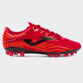 Zapatillas fútbol Joma Propulsion AG rojo/negro hombre